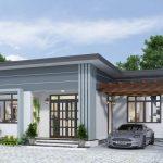 Lưu ý khi thiết kế nhà đẹp mái thái cho công trình nhà 1 tầng